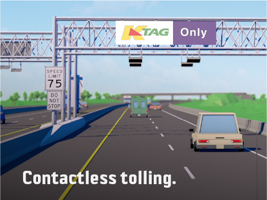 Contactless tolling.
