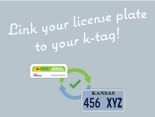 Link your license plate to K-TAG